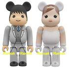 Medicom Be@rbrick 2013 Wedding 100% Marriage Groom & Bride Bearbrick set 2pcs