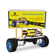 Two Wheel Self Balancing Balance Coding Robotics Robot Car Kit For Arduino Uno