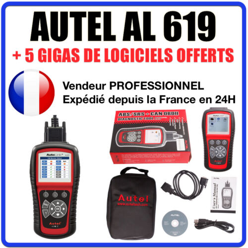 Valise Appareil Diagnostique Pro Multimarque En Français Obd2 Diagnostic AL619