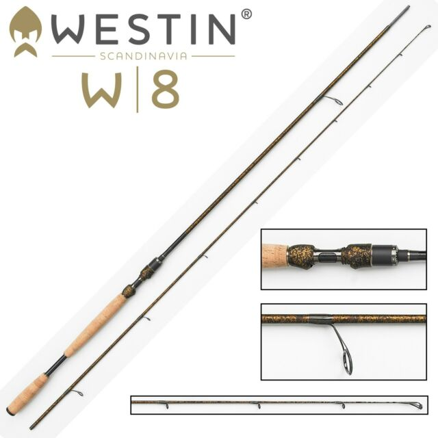 Westin Spinnrute W8 Spin 270cm M 7-30g, Angelrute zum Meerforellenangeln