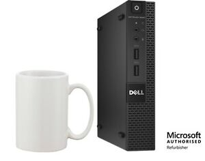 Dell Optiplex 9020 Micro Desktop Intel i3-4160T 8GB 128GB SSD Windows 10 Pro