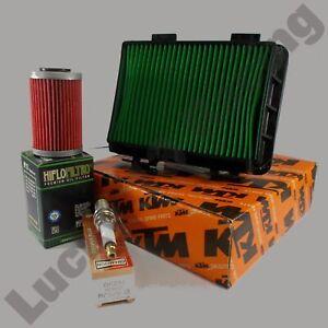 Service-kit-KTM-Duke-125-ABS-17-19-oil-and-air-filter-Spark-plug-NO-OIL-18
