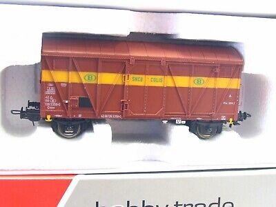 Hobbytrade H0 33354 ged Güterwagen Gkklms NMBS SNCB OVP LN8573