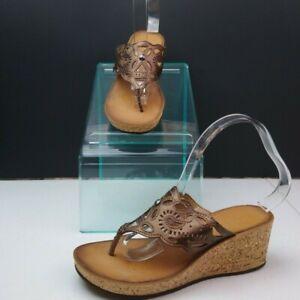 Clarks-Wedge-Sandals-Size-6-5