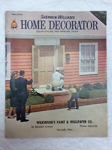 Image Is Loading Sherwin Williams 1963 Home Decorator Magazine Wilkinson 039