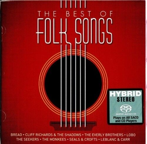 Various Artists - Very Best Of Folk Song / Various [New SACD] Hong Kong - Import