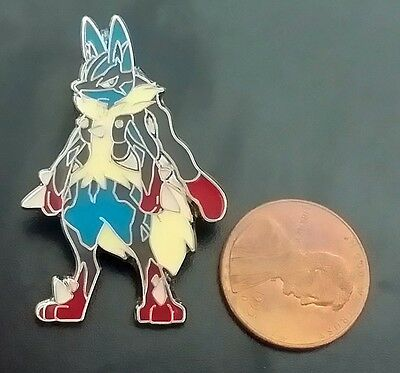 "Pokemon 1"" XY Flashfire Lucario Individual Pin (Officially Licensed) (ONE PIN)"