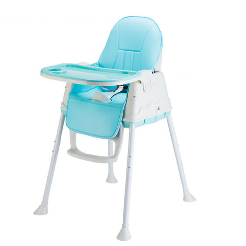 3 in 1 Kinderstuhl Hochstuhl Babystuhl Verstellbar Kinderhochstuhl mit Esstisch