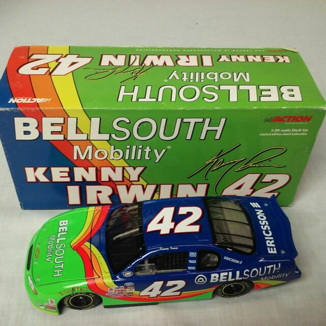 2000 Kenny Irwin Jr Bellsouth 1//24 Action RCCA Clear Window Bank NASCAR Diecast