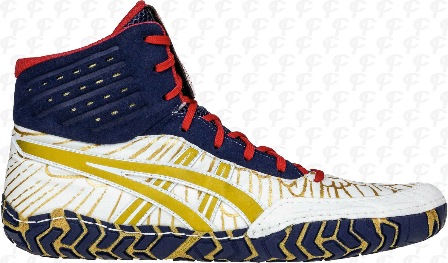NEW Asics Aggressor 4 Wrestling shoes - Special color Edition FREE SHIP