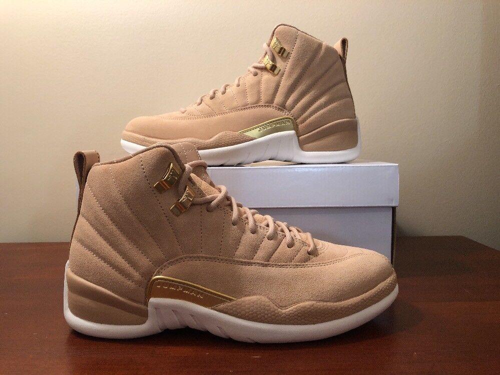 Nike Air Jordan 12 XII Retro womens Size 7 Vachetta Tan (AO6068 203) New