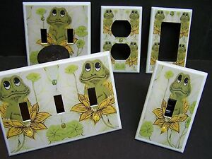 Neil The Frog Retro 70 S Sears Frog Light Switch Cover