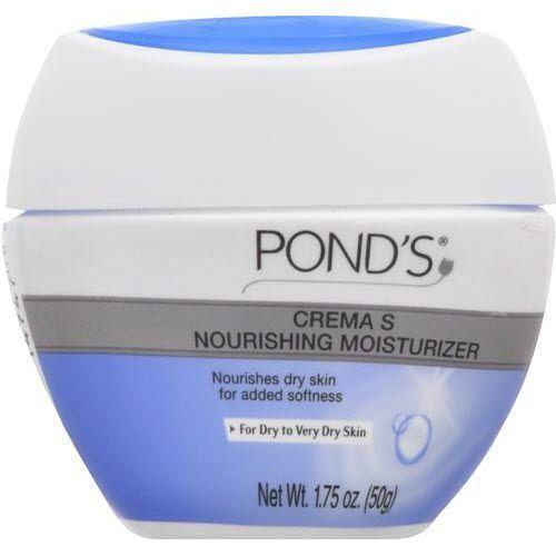 Pond's Crema Nourishing Moisturizer Dry Skin Add Softness Cream Travel 1.75oz