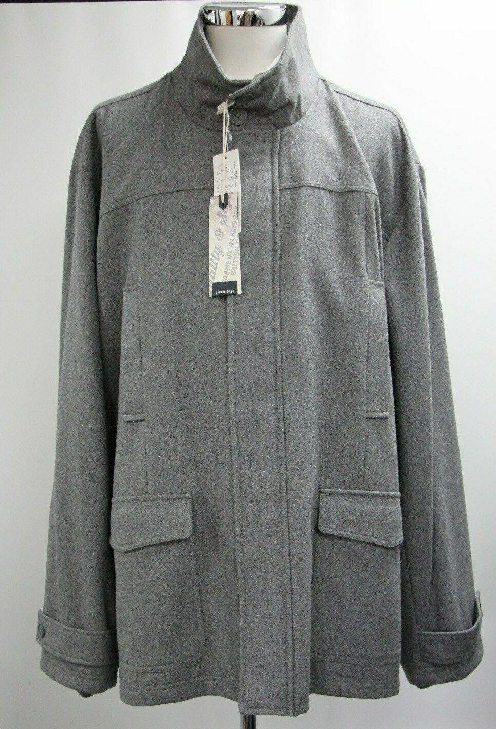 Men's Jacamo Coat in Grey (3XL).. Sample 4384