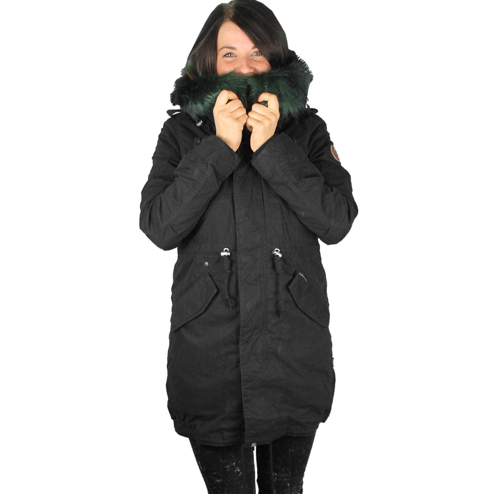 Khujo Methone con chaqueta interior para mujer Abrigo de invierno para mujer