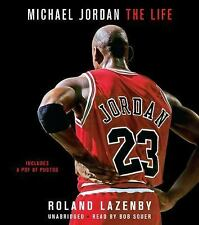 MICHAEL JORDAN - THE LIFE unabridged audio CD by ROLAND LAZENBY (21.5 Hours)