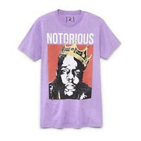 Notorious B.i.g Crown Biggie Smalls T Shirt_new With Tags_licensed Brooklyn Mint