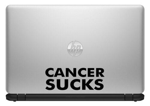STICKER CANCER SUCKS DECAL