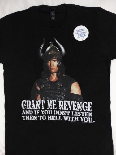Conan the Barbarian Movie Arnold Schwarzenegger T-Shirt