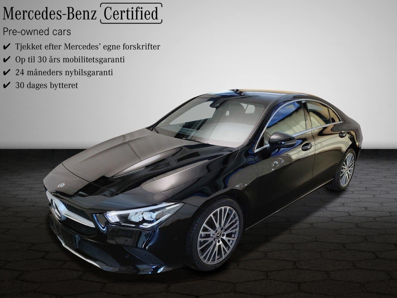 Mercedes CLA200 1,3 Advantage aut. 4d - 404.900 kr.