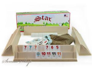 Original-STAR-Picknick-RUMMY-OKEY-aus-PLASTIK-Plastik-OKEY-TAKIMI