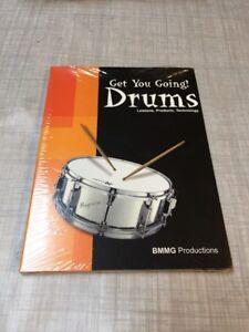"""""""get You Going Drums-apprendre à Votre Propre Rythme-afficher Le Titre D'origine Et Aide à La Digestion"""