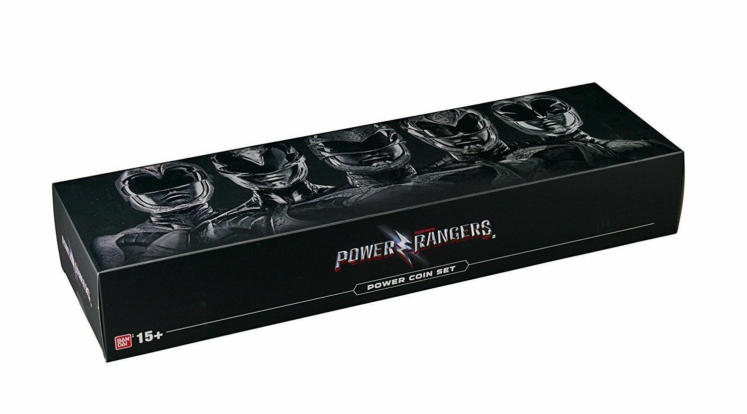 BANDAI POWER RANGERS MOVIE POWER COIN COIN COIN SET LIMITED EDITION LEGACY WITH DISPLAY d1b9e8
