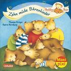 Maxi-Pixi Nr. 182: VE 5 Bobby Bär: Zehn müde Bärenkinder von Thomas Krüger (2015)