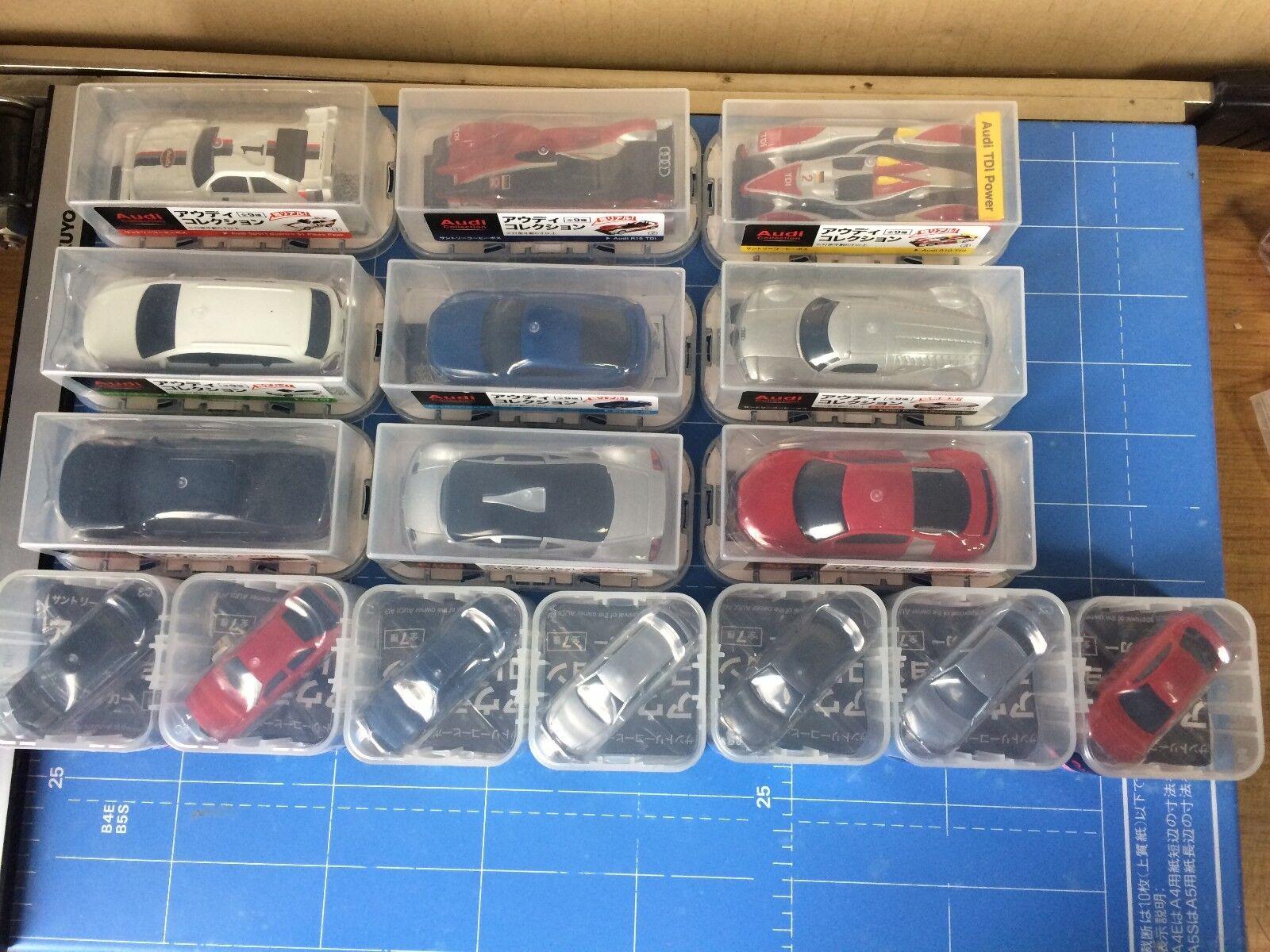 Suntory Boss,Audi Collection,16 Complete Set