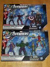 Marvel Universe - AVENGERS Movie 3.75 inch box set / lot of 2 WALMART Exclusive