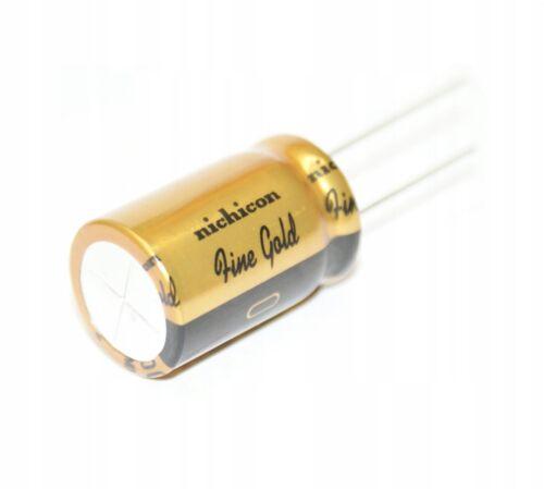 10 x 10µf 50 V Nichicon Muse FG Fine Gold Audio Elko Capacitor ufg1h100mdm 10uf