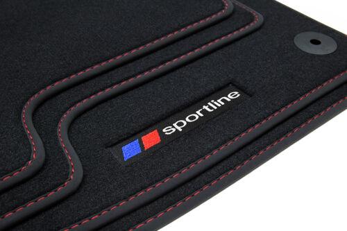 2004-2011 Sportline Fußmatten für BMW 1er E87 Bj