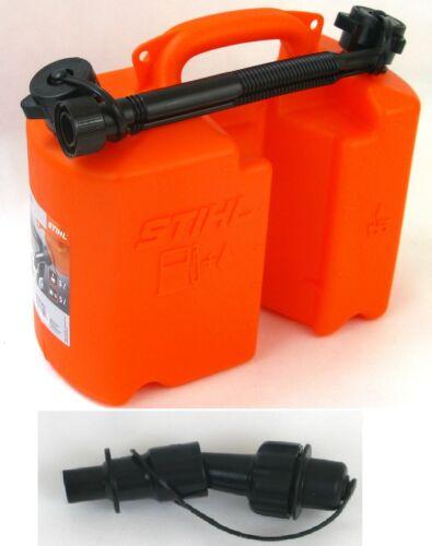 Stihl Kombi Kanister mit Einfüllsystem// 3 1,5 L.// 5 3 L.// orange//transparent