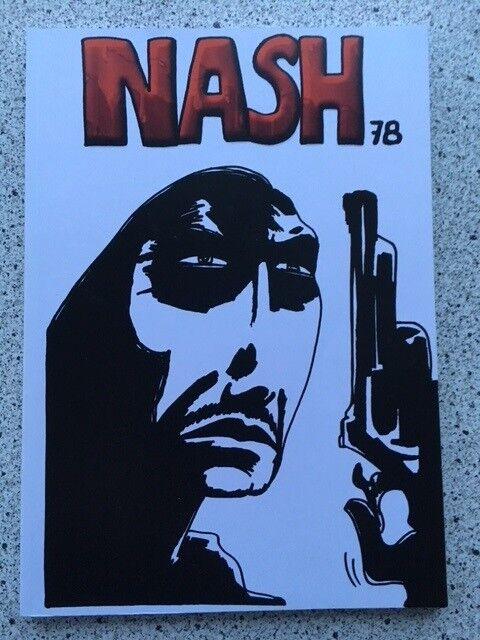 NASH's Narkorazzia, Johan Nørgaard Pedersen, Tegneserie