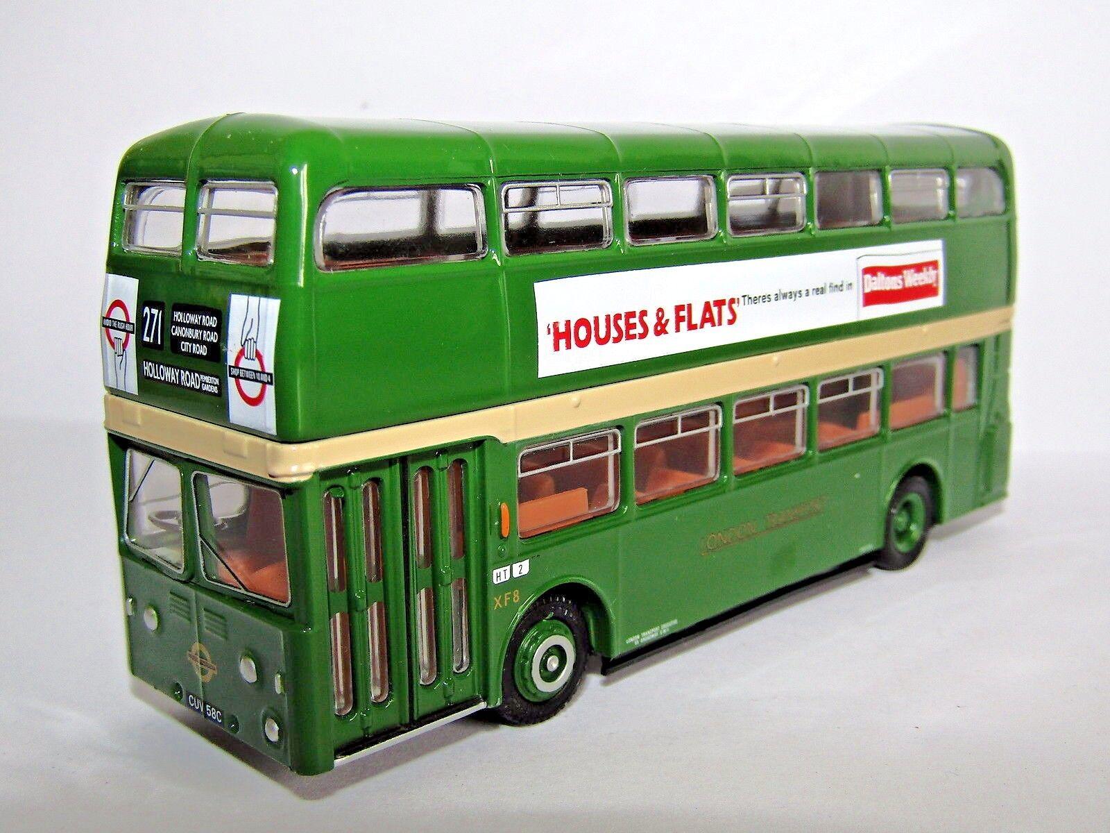 EFE DAIMLER FLEETLINE XF8 LONDON TRANSPORT ROUTE 271 COBHAM 2008 1 76 18204A