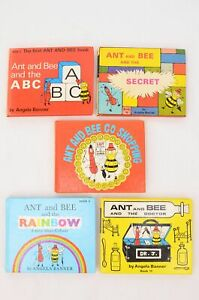 Set of 5 Five Ant & Bee picture storybooks for very young children - Kaye & Ward