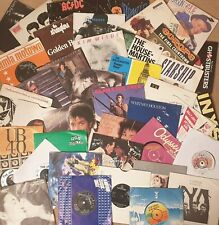 "Pick any 7"" Vinyl Singles 1300+records 60s 70s 80s 90s £1.99each: Buy 7, 1 FREE!"