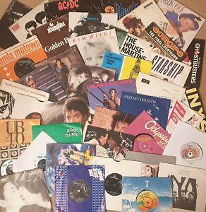 "Pick any 7"" Vinyl Singles 1200+records 60s 70s 80s 90s £1.99each: Buy 7, 1 FREE!"
