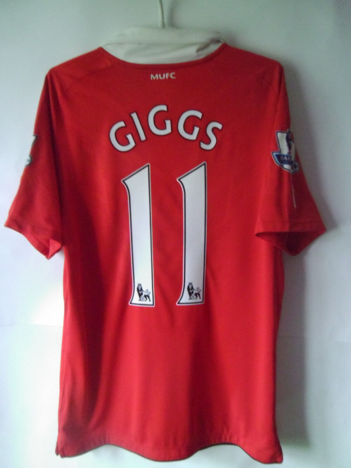 GIGGS     2010-11 Manchester United Home Shirt Jersey Trikot S