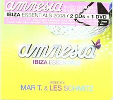 Amnesia Ibiza Essentials 2CDs + 1DVD 2008 Neu OVP