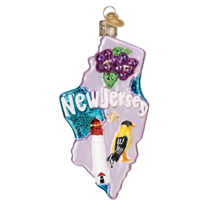 Old-World-Christmas-STATE-OF-NEW-JERSEY-36230-N-Glass-Ornament-w-OWC-Box