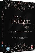 The TWILIGHT Saga - The Complete Collection - DVD BoxSet (5 Discs)*****