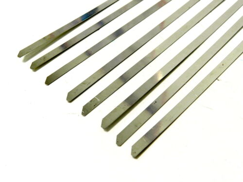 """12/"""" UNIVERSAL STAINLESS STEEL CABLES ZIP TIES X6"""