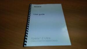 sony xperia z ultra c6833 printed instruction manual user guide rh ebay co uk sony xperia s manual pdf español sony xperia tablet s manual pdf