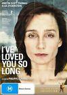 I've Loved You so Long (DVD, 2009)