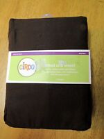 Circo Target Brown Fitted Crib Sheet 200 Thread Count Fits Standard Matress