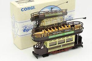 CORGI-TRAMWAY-OPEN-TOP-TRAM-LOWESTOFT-98150-AVEC-SA-BOITE