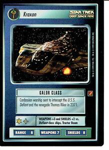 Star Trek CCG Blaze of Glory Rare Foil Cards