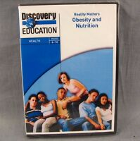 Reality Matters: Obesity And Nutrition Dvd Discovery Education Grades 6-12