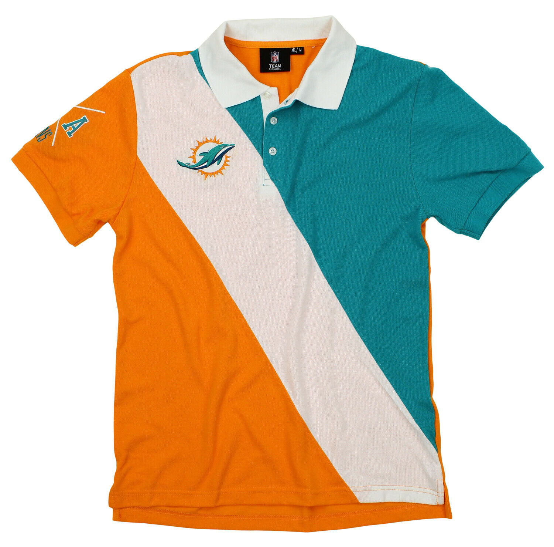BODATU Mens Design with Miami Dolphins Classic T Shirt